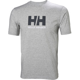 Helly Hansen HH Logo T-Shirt Heren, grey melange